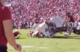 VIDEO: Oklahoma 'Sooner Schooner' Wagon Flips Over in Wild Wreck on Field in Norman