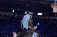 VIDEO: Derrick Jones Jr. Defeats Aaron Gordon in Epic Dunk Contest Despite Throwdown Over Tacko Fall