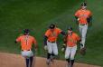 Astros barren a los Mellizos y avanzan a las series divisionales de la Liga Americana