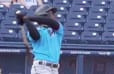 VIDEO: Marlins' Jazz Chisholm Hits First Home Run of Spring Training