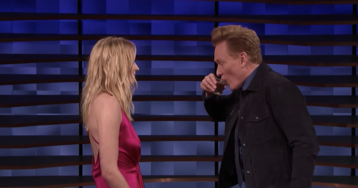 VIDEO: Sophie Turner Slaps Conan O'Brien in the Face While ...
