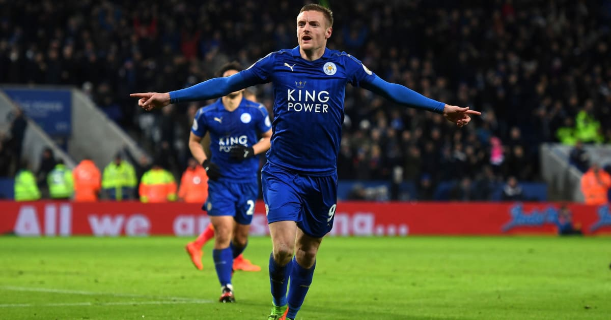 Leicester City 3 1 Liverpool Vardy Turns On The Style As Foxes Climb To 15th 90min