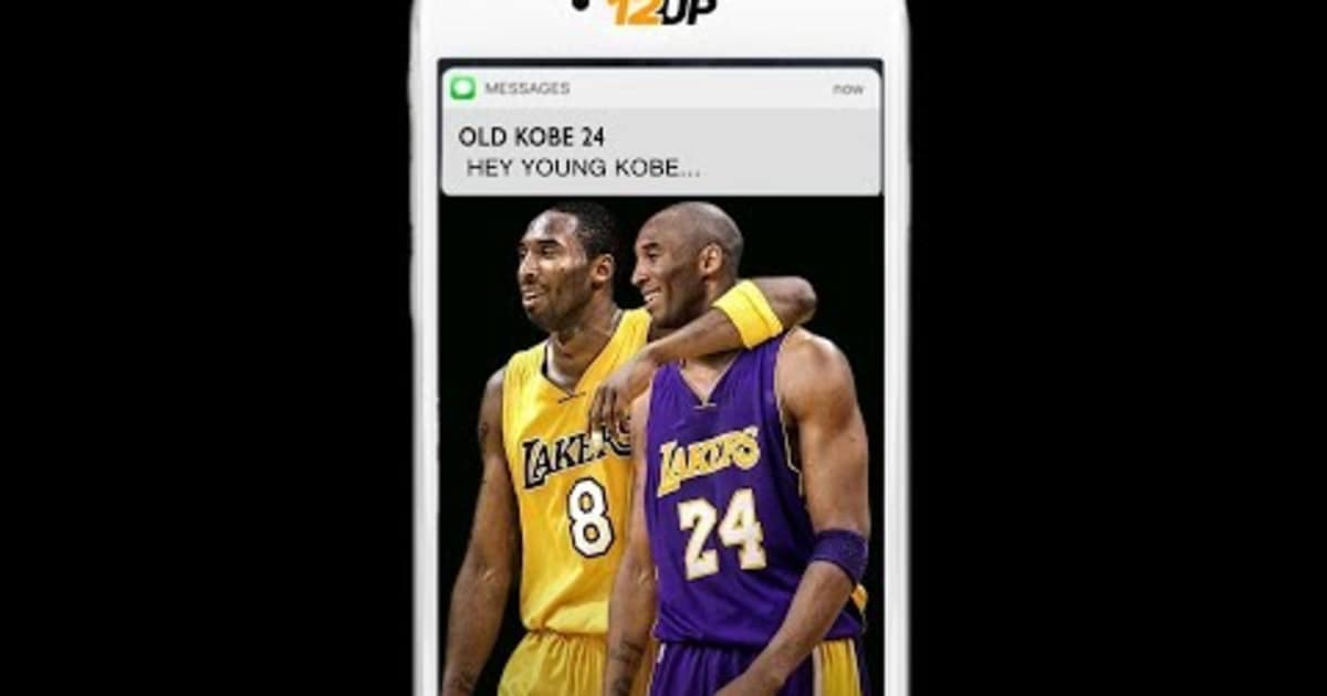 VIDEO  Old Kobe Texts Young Kobe Advice Ahead of Jersey Retirement Ceremony   e525d0601cf7