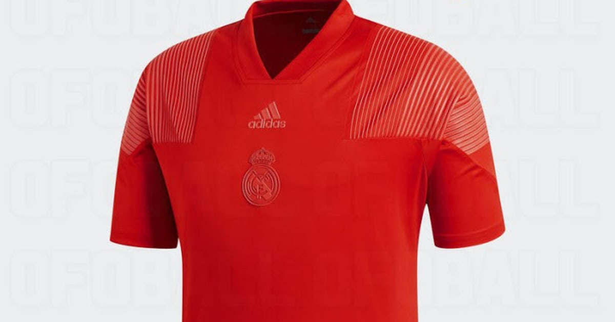 68c0ffb6e PHOTO  Designs for Real Madrid s  Tango Red  3rd Strip for 2018 19 Season  Leak Online