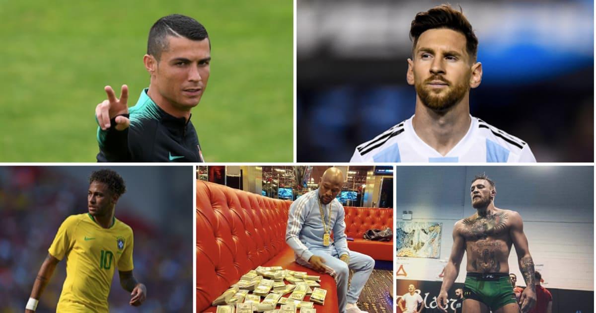 Bestbezahlten Sportler