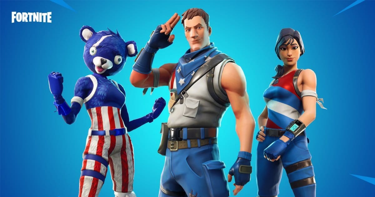 Fortnite Leaked Cosmetics 4.5 Epic Games Releases New Stars And Stripes Fortnite Skins Dbltap