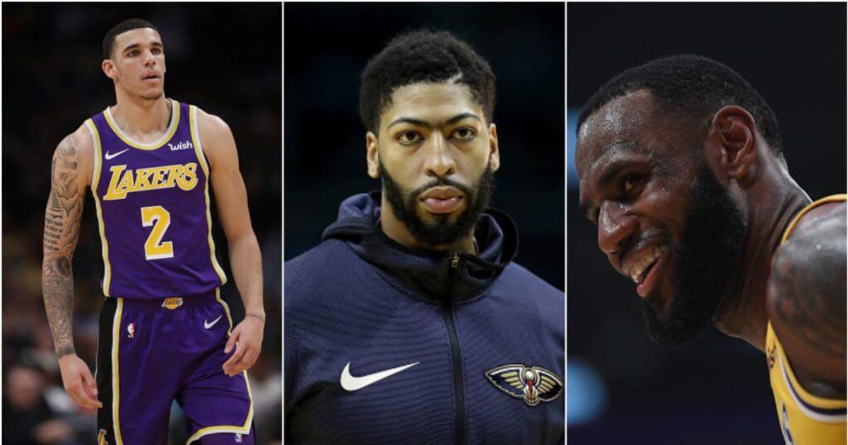 RUMOR: Lakers Potential Anthony Davis Trade Would Include Lonzo and Ingram in 3-Team Deal