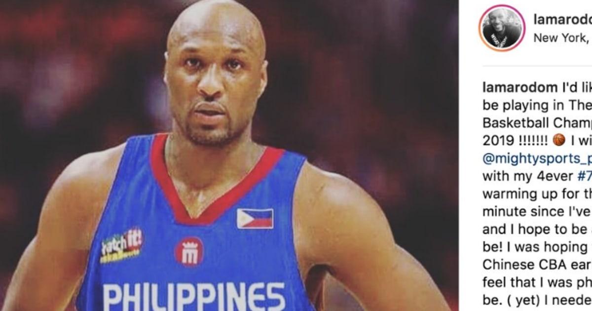 Lamar Odom Announces Return to Basketball in Emotional Instagram Post 9622196f0