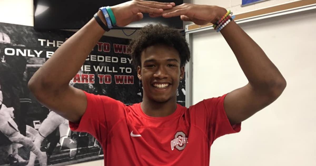 BREAKING Ohio State Lands 5 Star WR Garrett Wilson And