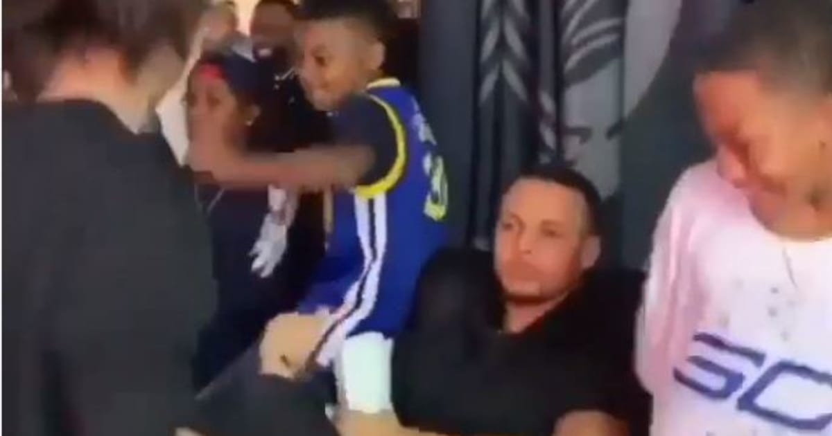 VIDEO: Steph Curry Still Trolling Fergie by Dancing to ... Fergie National Anthem Remix