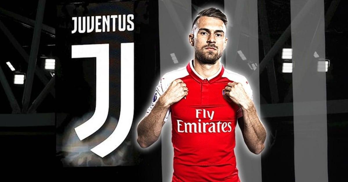 XONG: Aaron Ramsey gia nhập Juventus với mức lương khủng