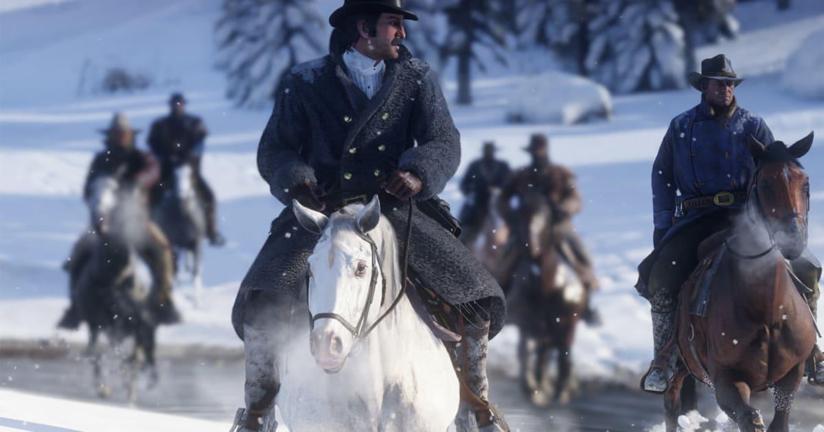 Red Dead Redemption 2 White Arabian Horse Location Dbltap