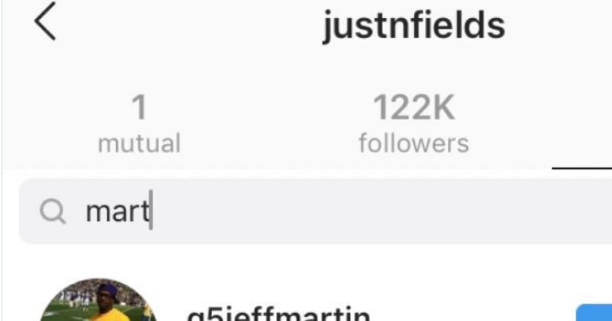 Ohio State QB Justin Fields Follows Tate Martells Sister