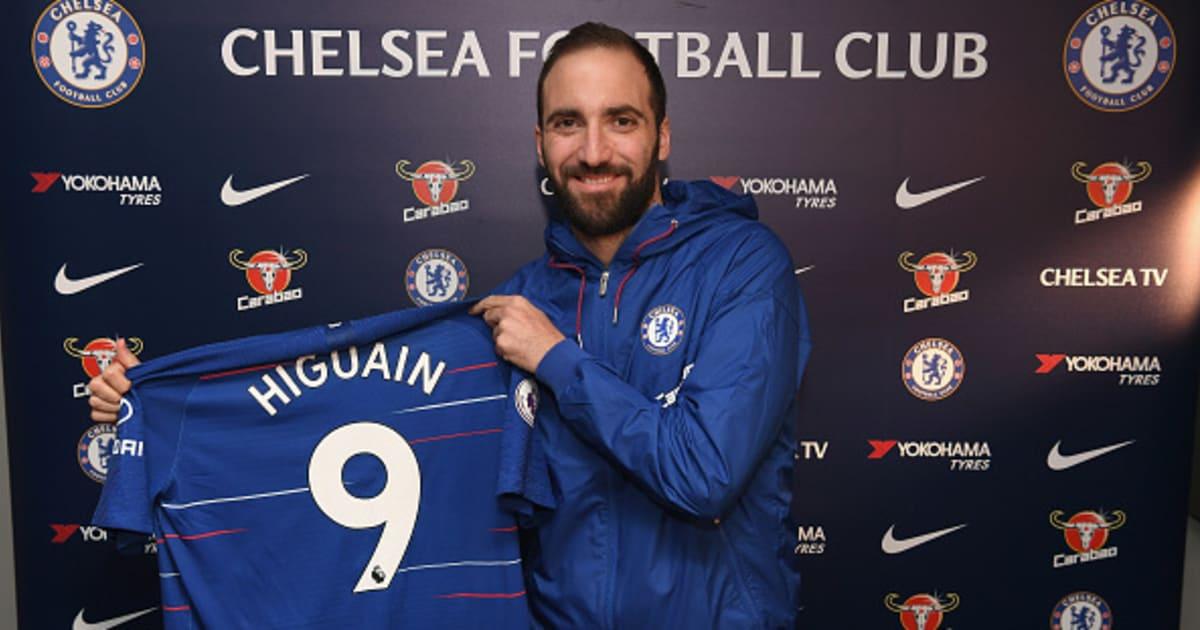 OFFICIEL : Gonzalo Higuain rejoint Chelsea jusqu'à la fin de la saison