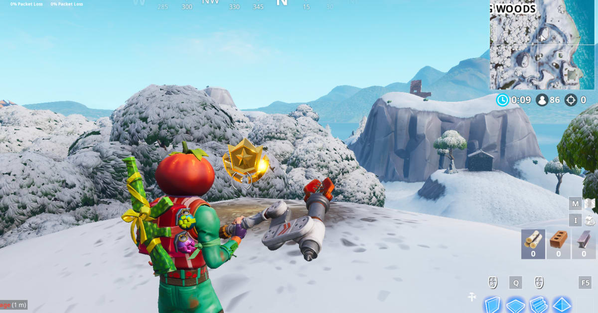 Fortnite Rock Lady: Where to Search Between the Giant Rock
