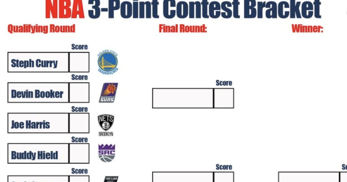 This is a photo of Canny Nba Playoffs Bracket Printable