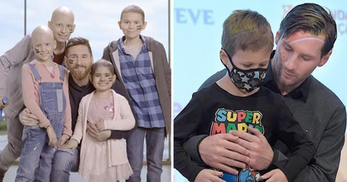 Report Reveals Lionel Messi's Commitment to Fight Childhood Cancer Through the Messi Foundation