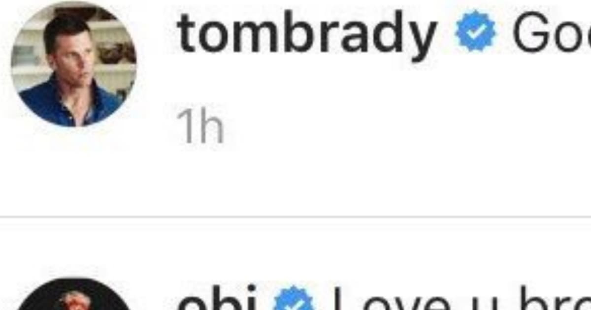 Odell Beckham Jr. Comment on Tom Brady's Instagram Post Has Patriots Fans Buzzing