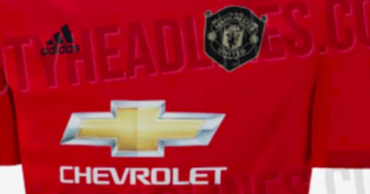 Man Utd's Home Kit for 2019/20 Emerges Online & It's a