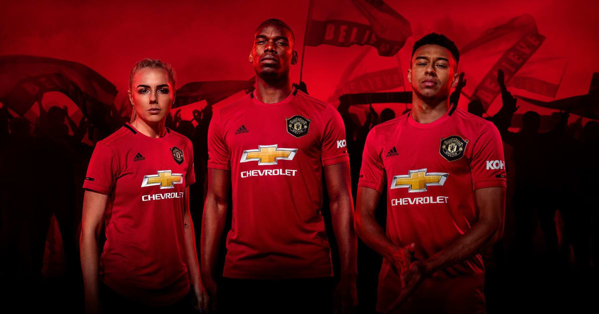 Manchester United Home Kit 2019/20: Red Devils Release New