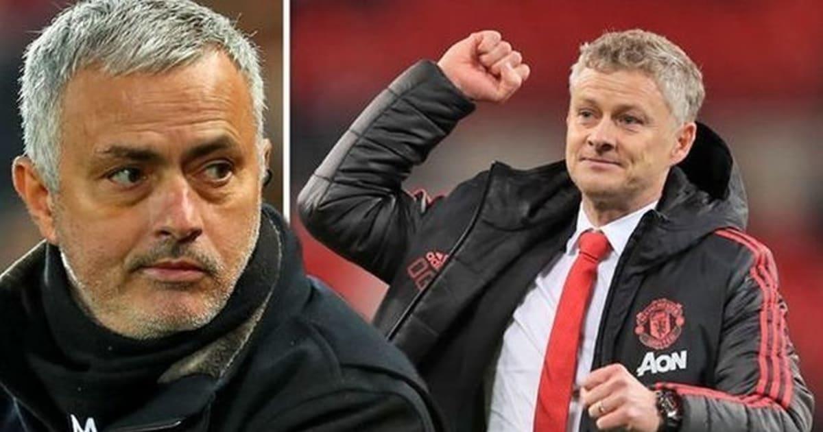 Nói về Solskjaer, Mourinho đá đểu thẳng mặt bằng 1 từ cực sốc!