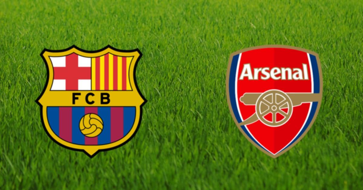 CHÍNH THỨC: Chốt thời điểm Arsenal đại chiến Barcelona