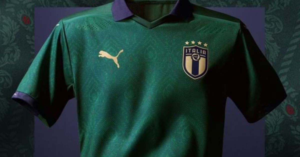 Puma Unveil Brand New Green 'Renaissance' Kit for Italian ...
