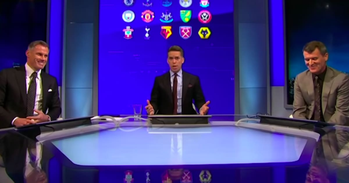 VIDEO: Keane & Carragher Pick Their Combined Liverpool (2020) & Man Utd (1999) XI - And it's TV Gold