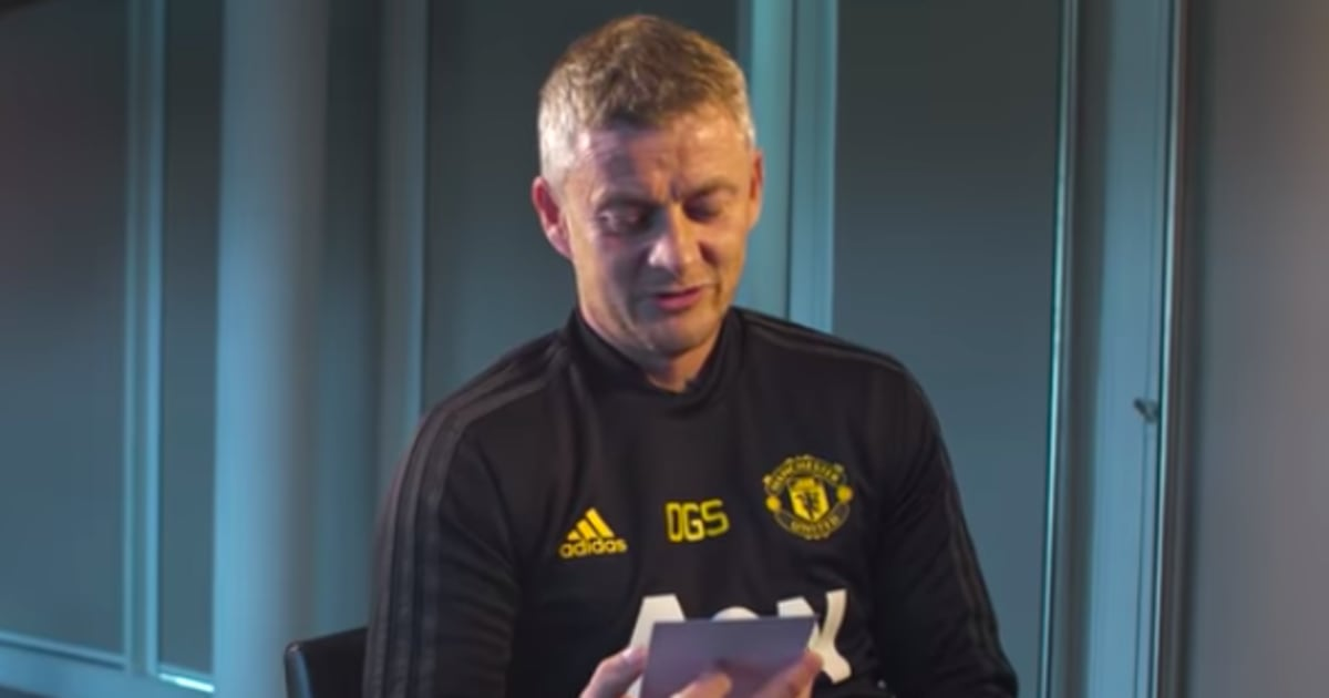 VIDEO: Ole Gunnar Solskjaer Guesses Man Utd Players From Baby Photos - And He's Still an Assassin