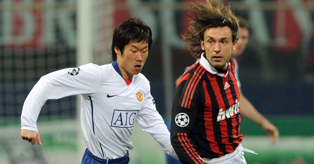 Throwback to When Park Ji-Sung Pocketed Andrea Pirlo for 180 Minutes in Manchester United's Clash Against AC Milan