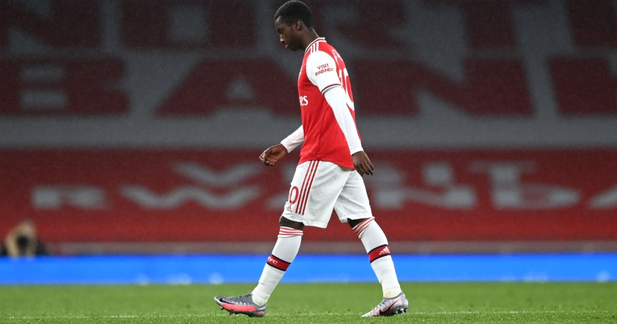 Arsenal have launched an appeal against the red card issued to Eddie Nketiah during Tuesday's 1-1 draw with Leicester at the Emirates Stadium. The str