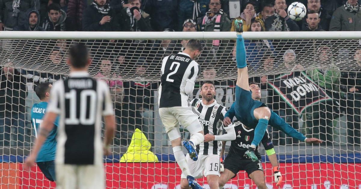 Marcus Rashford Hails 'Iconic' Cristiano Ronaldo's Bicycle Kick Against Juventus in the UEFA Champions League