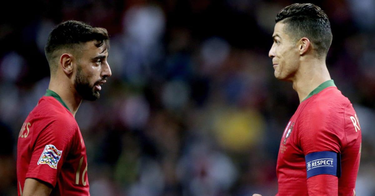 'He Doesn't Jump, He Flies' - Bruno Fernandes Hails Manchester United Legend Cristiano Ronaldo