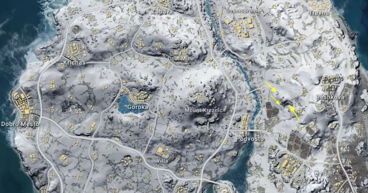 Playerunknown S Battlegrounds Maps Loot Maps Pictures: PUBG Vikendi: Best Places To Loot In The PUBG Snow Map