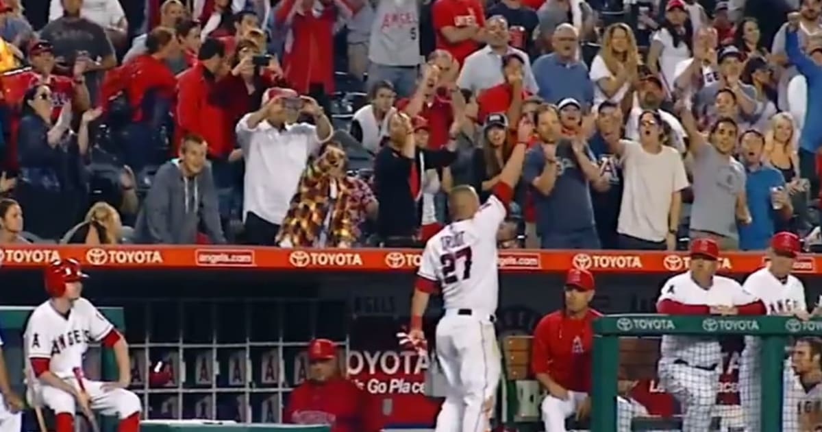 VIDEO: MLB Finally Figured Out How to Market Mike Trout With Latest