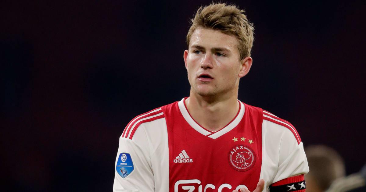 Man City are 'Main Bidder' for Ajax Starlet Matthijs de Ligt as Barcelona & Bayern Remain Keen