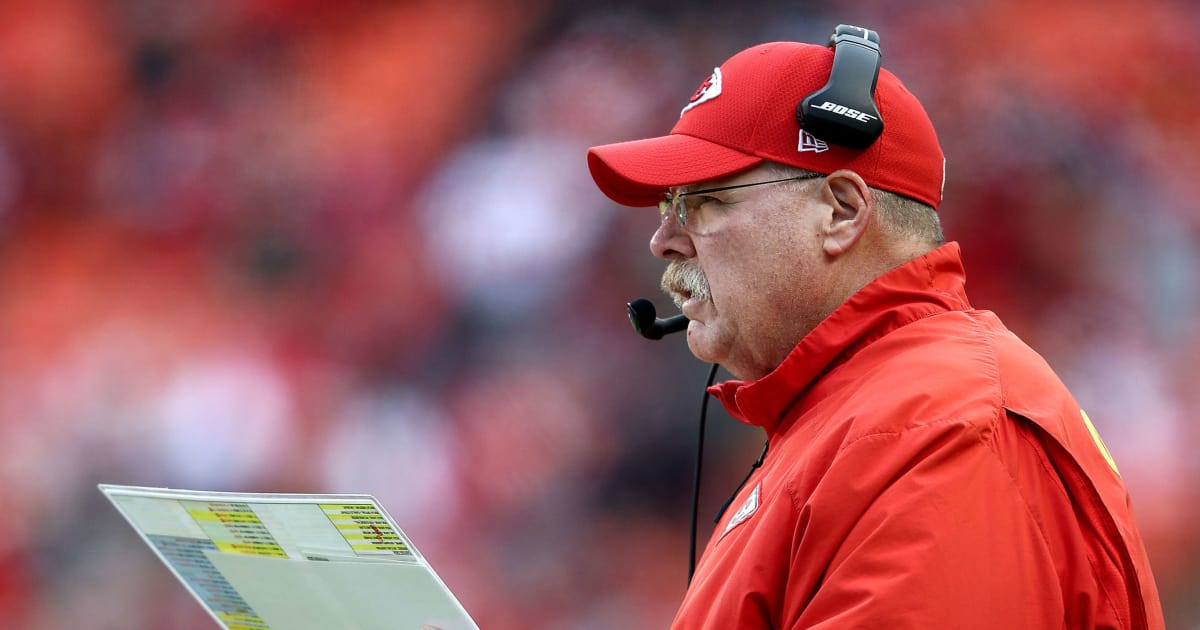 best loved 64b15 ec3d9 Andy Reid Trolls Chiefs Players Over Decision to Wear All ...