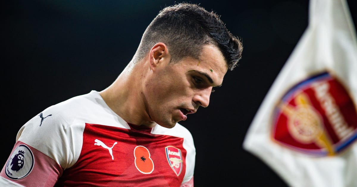 Arsenal Fans Lose Patience With Granit Xhaka After Costly Error