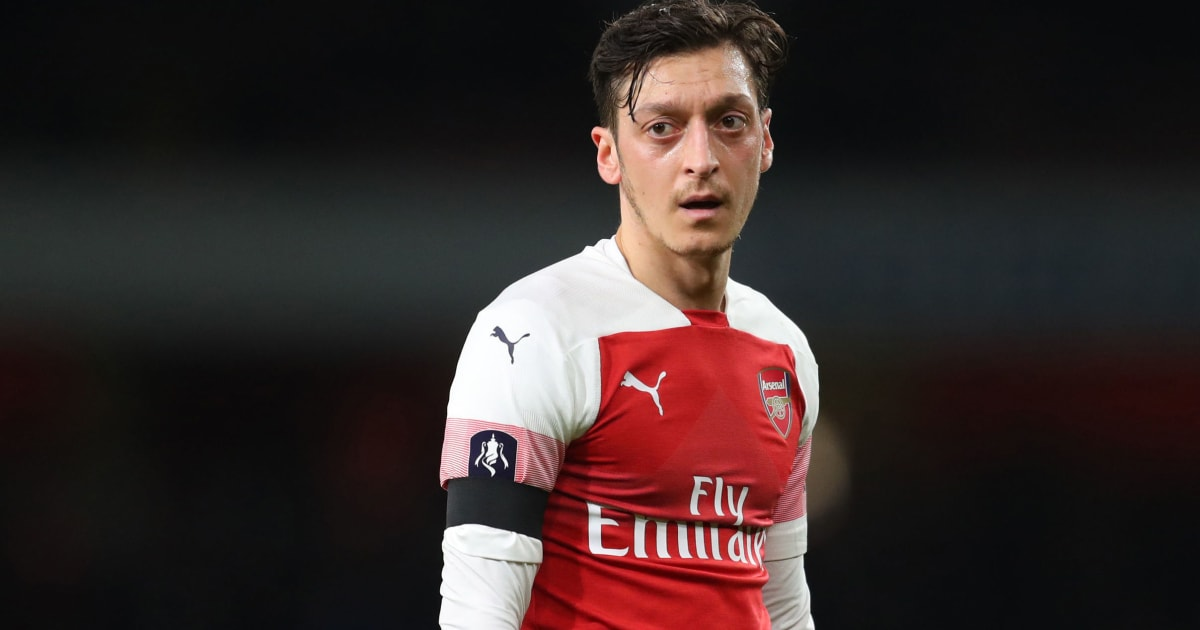 Mesut Ozil Refuses to Leave Arsenal on Loan With Club Desperate to Cut £350,000-a-Week Wages