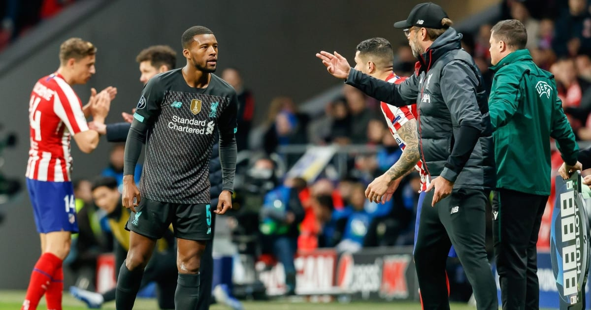 Gini Wijnaldum Explains How Jurgen Klopp Keeps Players Grounded Despite Runaway League Lead