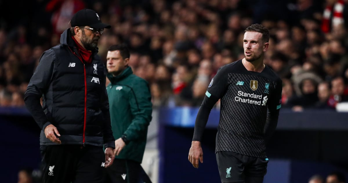 Liverpool 'Anxious' Over Jordan Henderson Injury Ahead of Key Run of Games