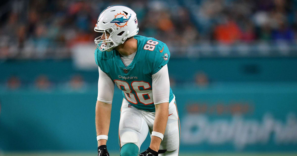 best service a50be 8680a Risky Touchdown Prop Bet For Dolphins Rookie Tight End Mike ...