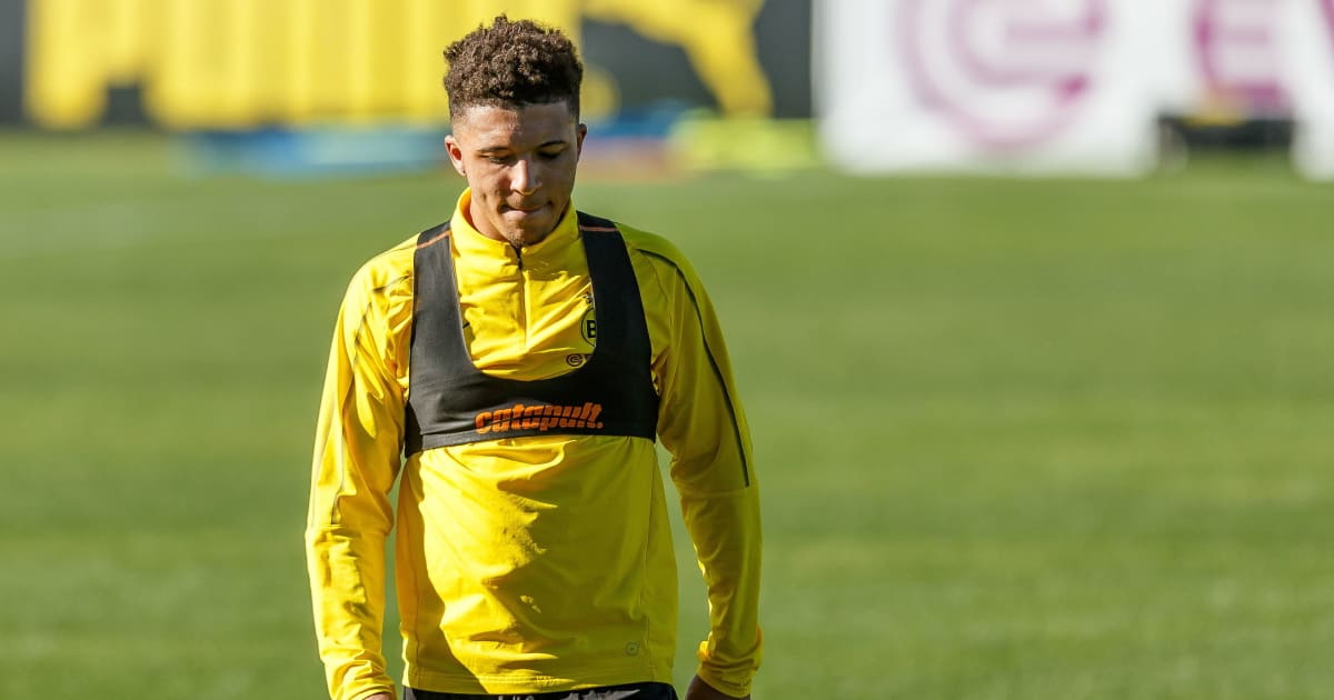 borussia dortmund star jadon sancho warns hudson odoi that bundesliga is not easy ht media. Black Bedroom Furniture Sets. Home Design Ideas
