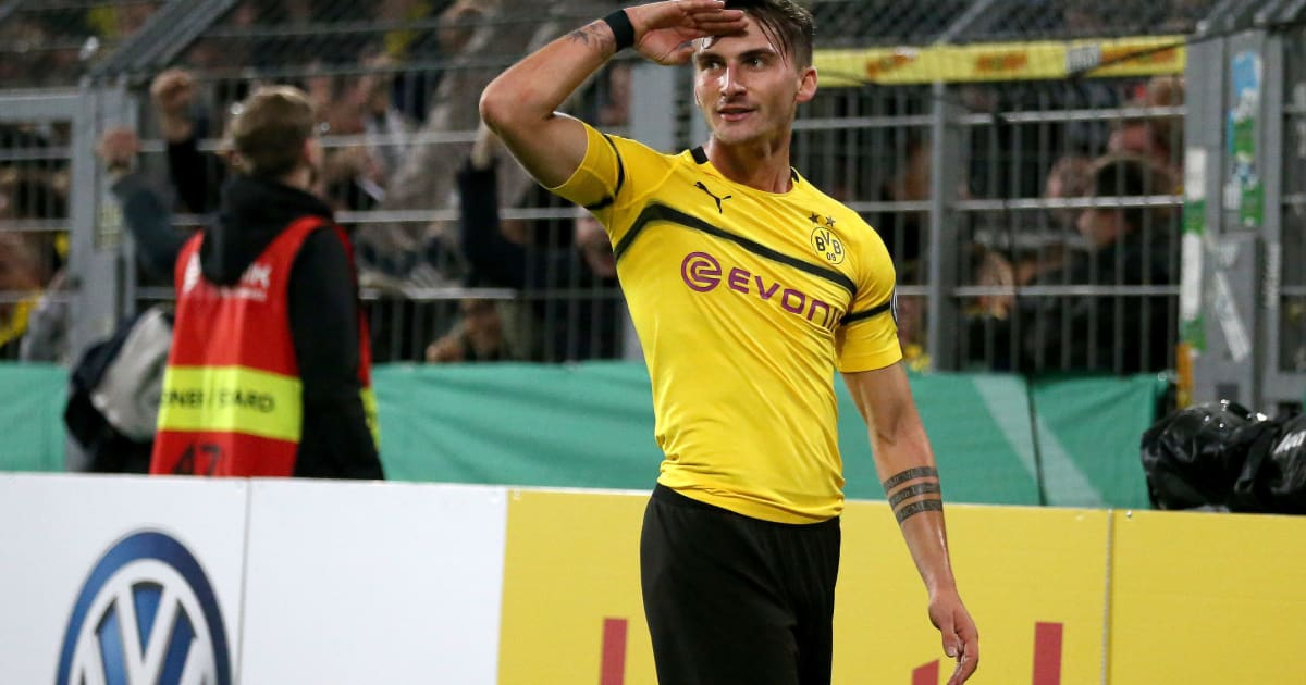 newcastle interested in out of favour borussia dortmund forward maximilian philipp ht media. Black Bedroom Furniture Sets. Home Design Ideas