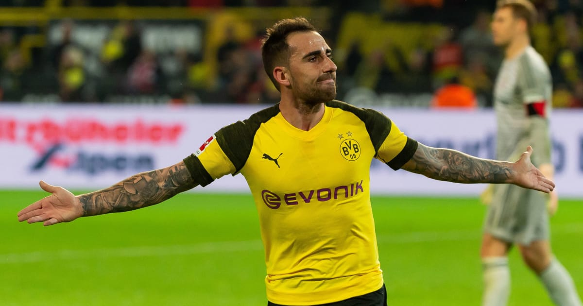 paco alc cer reveals he is 39 feeling important again 39 after joining borussia dortmund ht media. Black Bedroom Furniture Sets. Home Design Ideas
