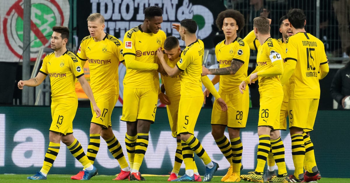 Dream Borussia Dortmund Squad For 2020 21 Including New Signings Transfers Out Squad Numbers 90min
