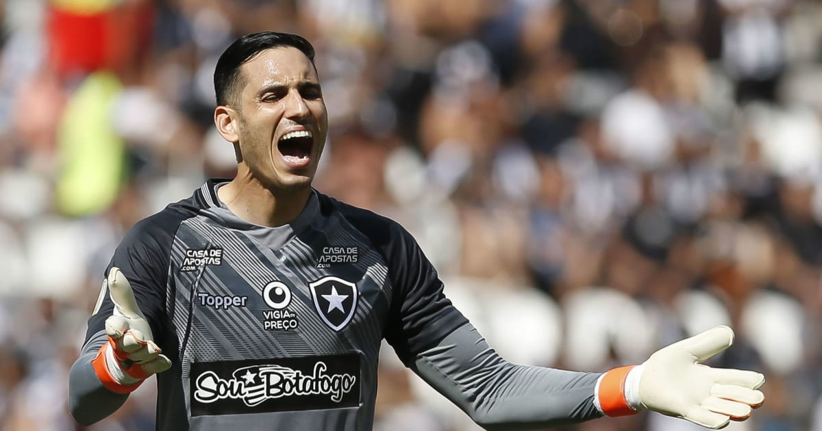 Momento impede Botafogo e Gatito de discutirem renovação; contrato vai até 2021