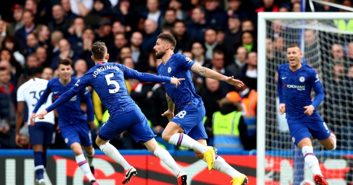 Chelsea 2-1 Tottenham: Report, Ratings & Reaction as Olivier Giroud Stars in Derby Win