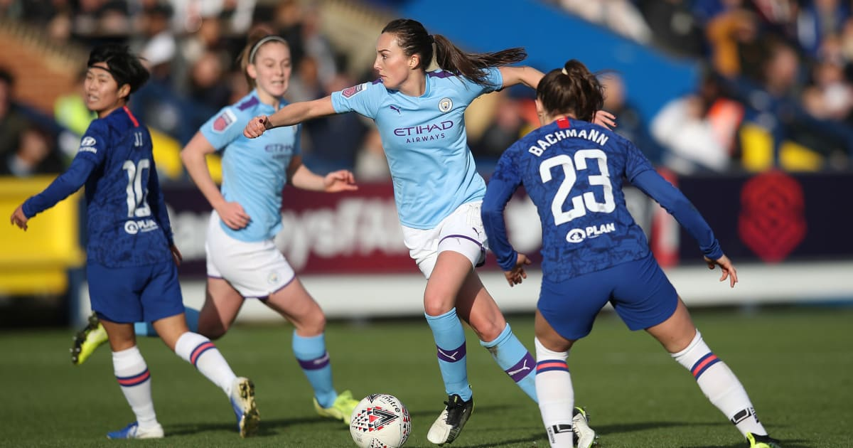 Man City & Chelsea Set for Huge WSL Title Clash This Weekend as First Meets Second