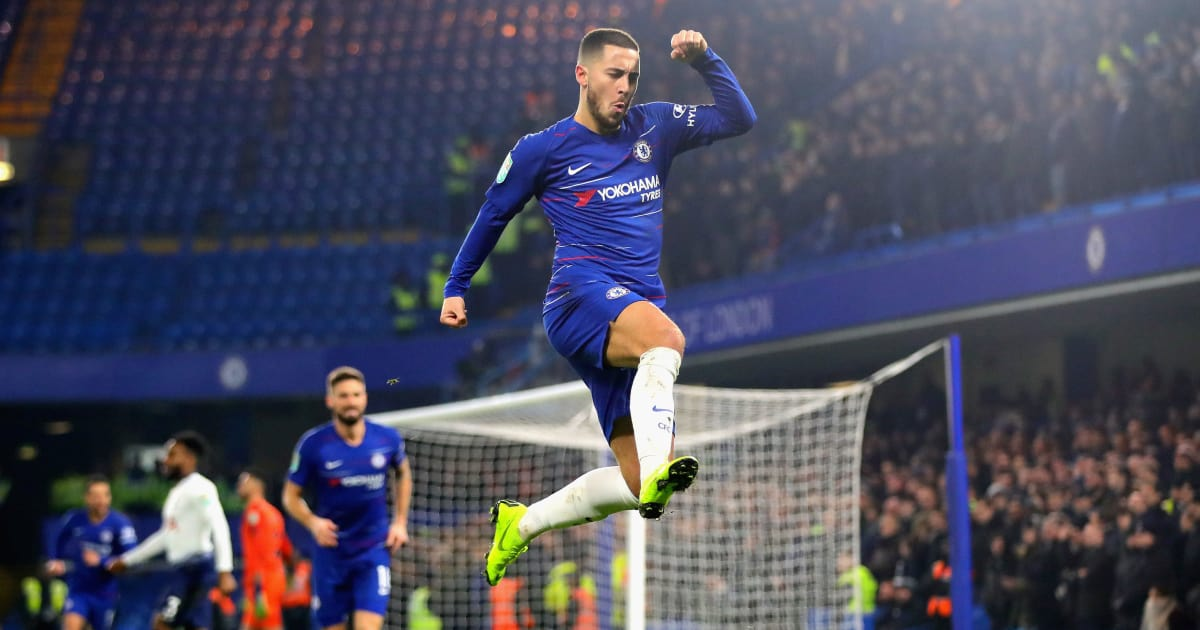 Eden Hazard Claims He Is a Leader Following Spurs Win Despite Maurizio Sarri's Previous Comments